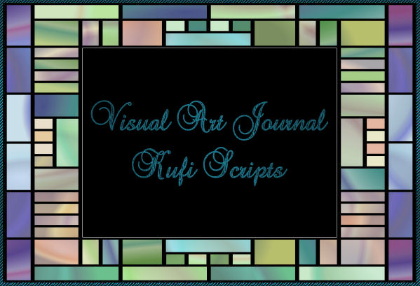 Visual Art Journal: Kufi Scripts