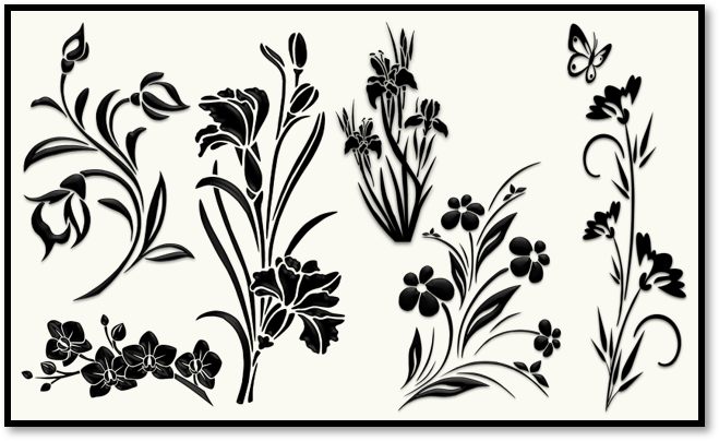 Flower – Silhouettes