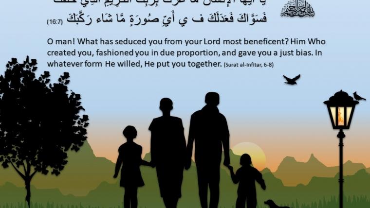 Surat al Infitar, Ayat 6-8